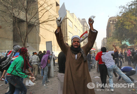 Хроника революции в Египте