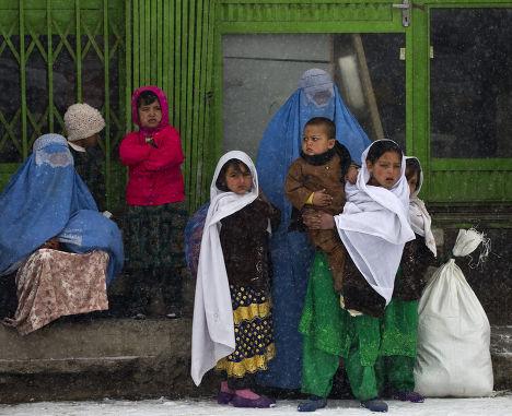 Жители Кабула