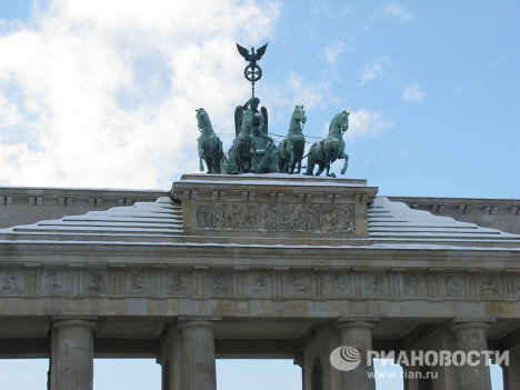 Зимний Берлин