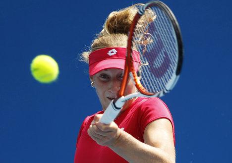Екатерина Макарова в матче Открытого чемпионата Австралии