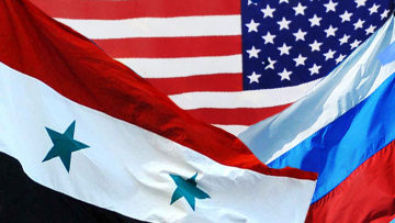 Россия, США и Сирия