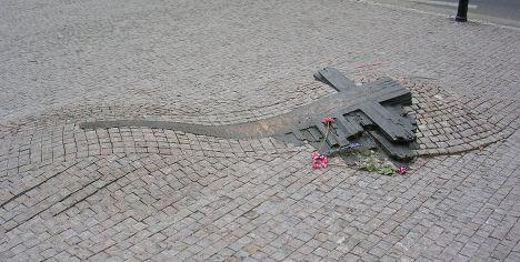 Памятник Яну Палаху и Яну Зайицу
