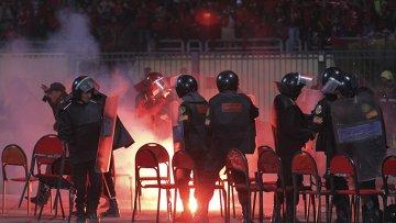 Беспорядки на стадионе в Порт-Саиде