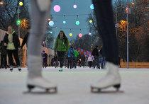 Открытие катка в Парке Горького