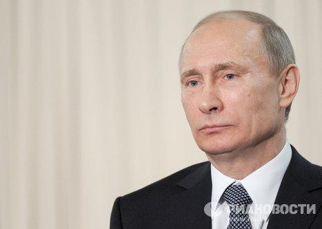 Встреча Владимира Путина с Корпусом наблюдателей за выборами Президента Рф 2012 года