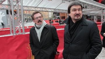 Тележурналисты Ильдар Жандарев и Борис Берман на Берлинале-2012
