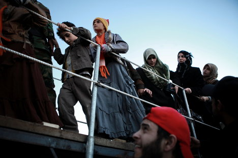 Беженцы в Ливии