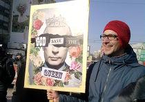 Плакаты на Новом Арбате