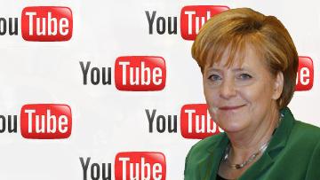 Меркель в интернете
