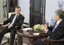 Президент РФ Д.Медведев встретится с президентом Киргизии А.Атамбаевым