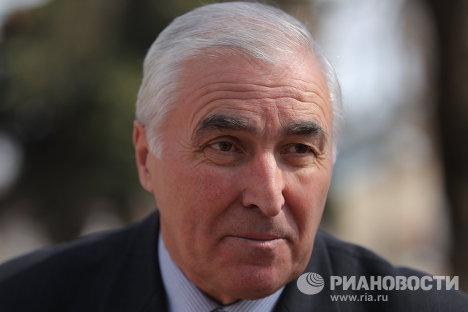 Югоосетинский лидер Леонид Тибилов