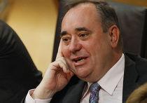 Шотландский политик, премьер-министр Шотландии Александр Салмонд