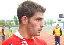 Футболист Чад Эванс