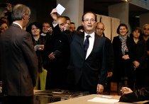 Олланд проголосовал во втором туре выборов президента Франции