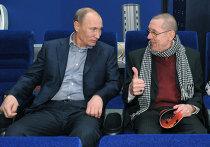 """В.Путин посмотрел на киностудии """"Мосфильм"""" фильм """"Высоцкий"""""""