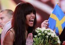 "Певица Лорин на конкурсе ""Евровидение -2012"""