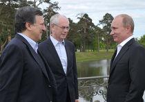 Президент РФ В.Путин и лидеры Евросоюза встретились в Стрельне