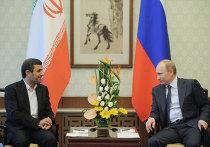 Беседа В.Путина с М.Ахмадинежадом