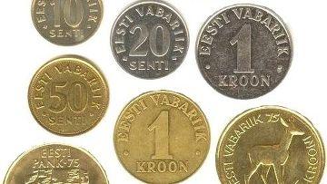 Крона эстонская царская монета 20 копеек 1904 цена