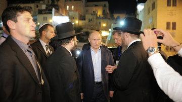 Рабочий визит президента РФ В.Путина в Израиль.