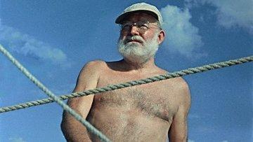 """Эрнест Хемингуэй. Фотография Генри Боровика на выставке """"Увидеть время"""""""