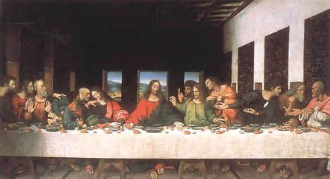 "Леонардо да Винчи ""Тайная вечеря"""