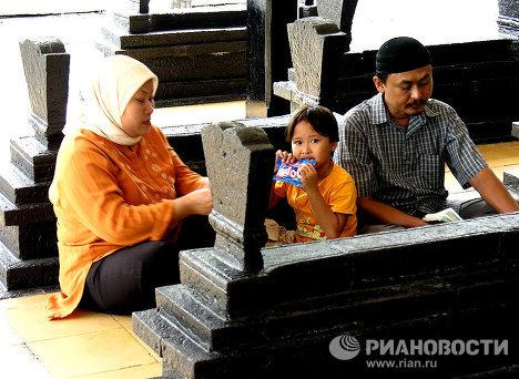 Мусульмане за молитвой