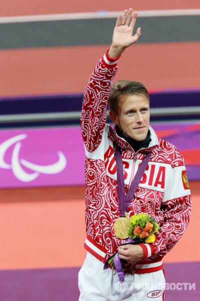 Российский легкоатлет Роман Капранов