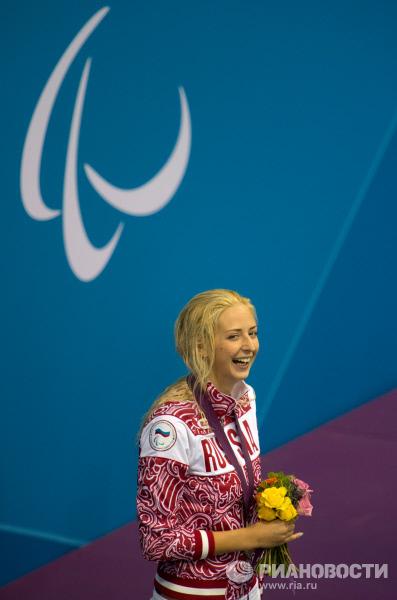 Российская пловчиха Олеся Владыкина