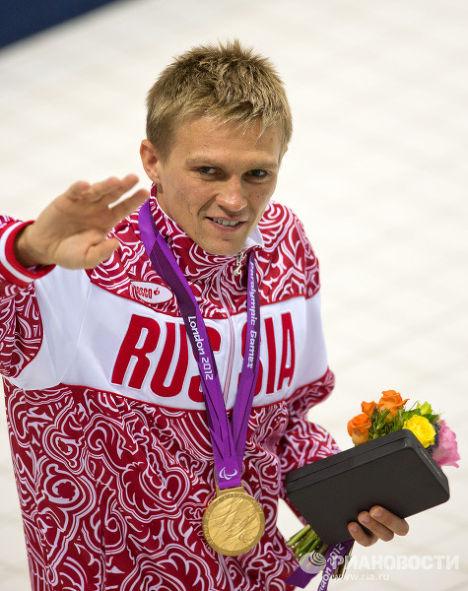 Российский спортсмен Роман Макаров