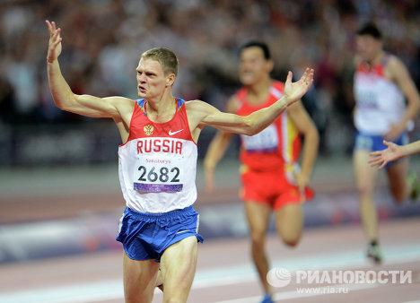 Российский спортсмен Евгений Швецов