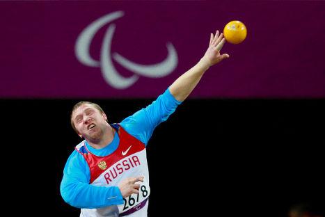 Российский спортсмен Никита Прохоров