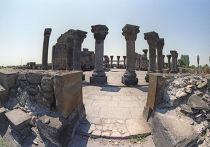 Храм Звартноц в Армении