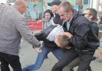 Задержание участников  движения «Революция через социальные сети»