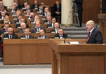 Обращение Александра Лукашенко к народу и парламенту Белоруссии