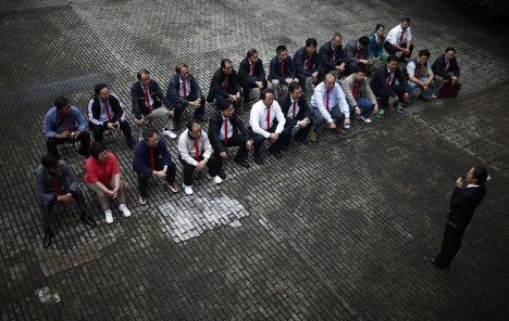 Учащиеся элитной школы коммунистов, Китай