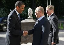 Владимир Путин встретился с президентом США Бараком Обамой