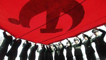 Встреча 18-го съезда Компартии Китая