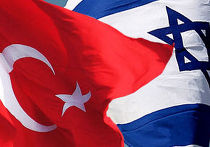 Флаги Турции и Израиля