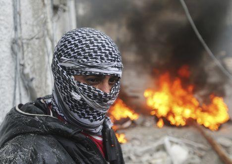 Боец Свободной сирийской армии