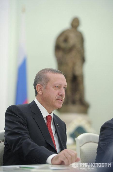 Премьер-министр Турции Реджеп Тайип Эрдоган