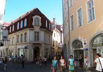 На улице Таллина, Эстония