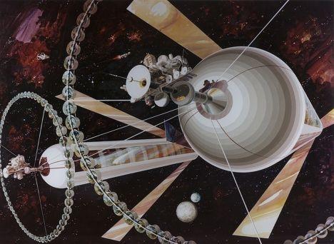 Космическая колония