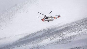 Поиски норвежского самолета Hercules в Швеции