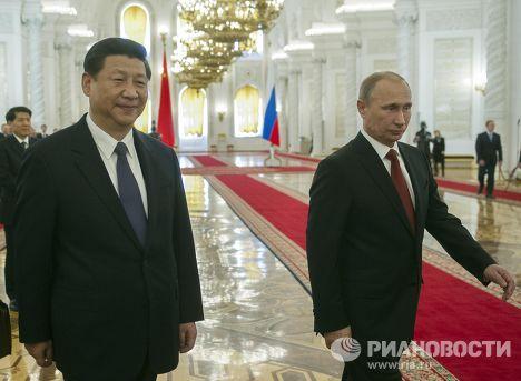Встреча Владимира Путина и Си Цзиньпина