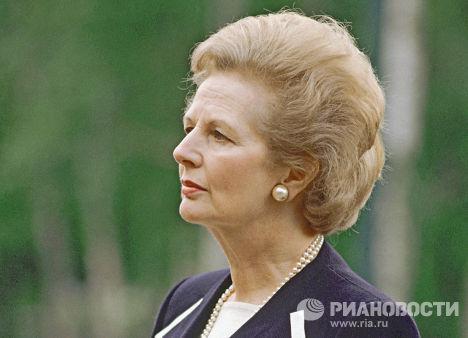 Премьер-министр Великобритании Маргарет Тэтчер, 1990 г.