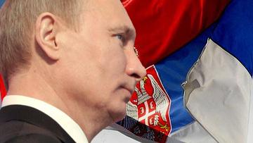 Владимир Путин и Сербия