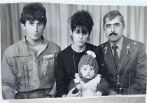 Тамерлан Царнаев со своими родителями и дядей