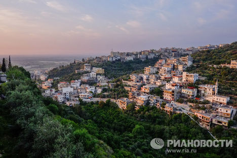 Виды города Хальба, находящегося на севере Ливана, рядом с сирийской границей.