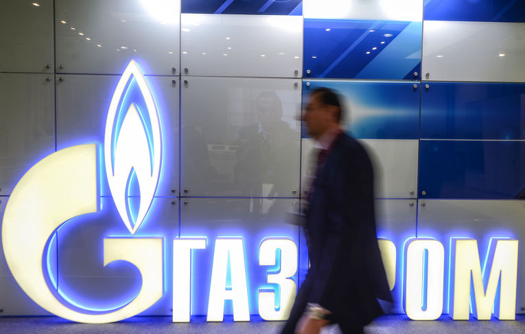 Логотип «Газпром»